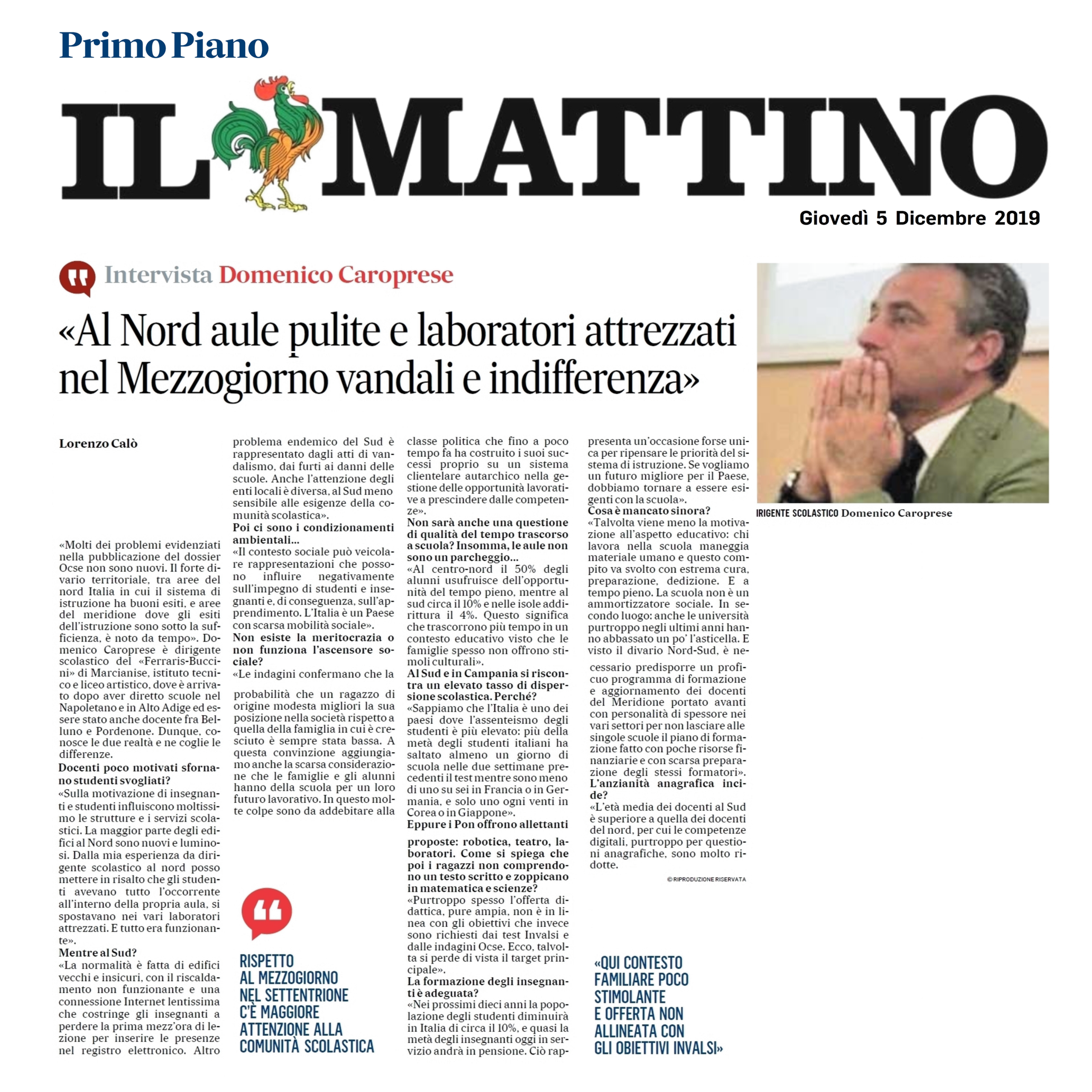 ilMattino_Intervista-Caroprese