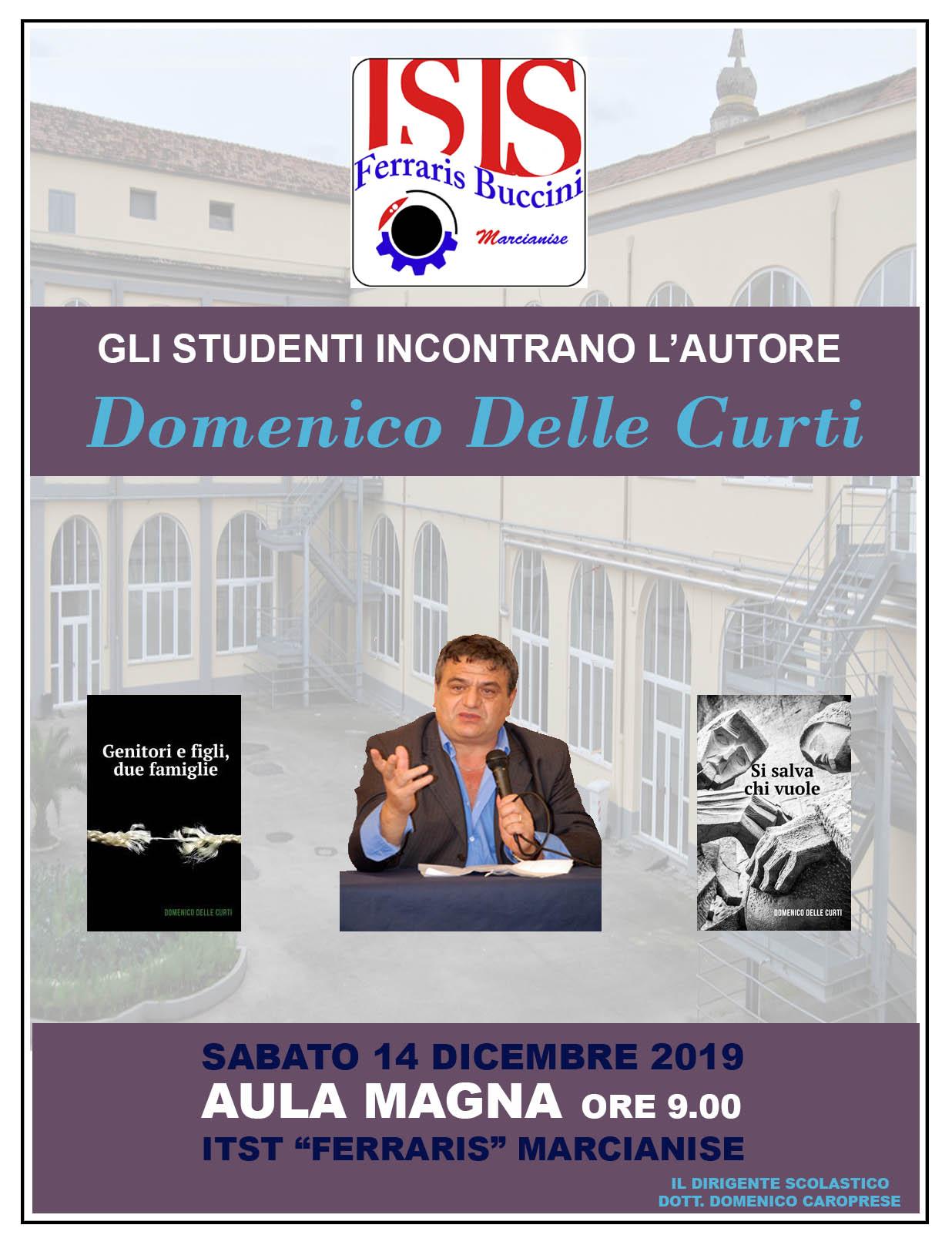 locandina Domenico Delle Curti