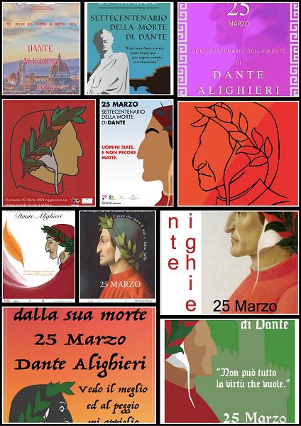Settecentenario della more di Dante Alighieri