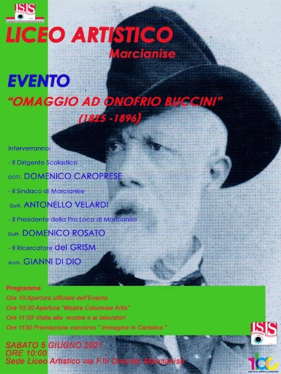 Evento - Omaggio a Onofrio Buccini
